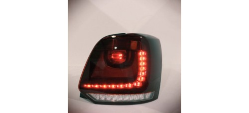 AUTO LAMP R-TYPE LED TAILLIGHTS SET VOLKSWAGEN POLO 2014-15 MNR